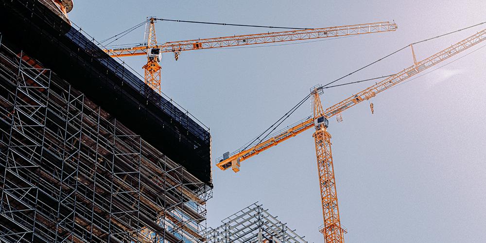 stroom voor bouwplaatsen